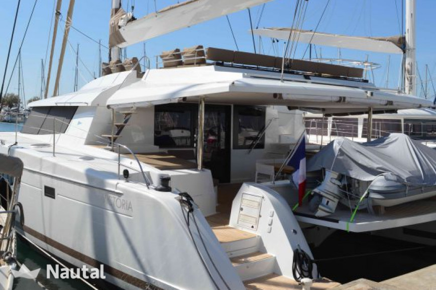 Huur catamaran Fountaine Pajot Victoria 67 in Cogolin, Var