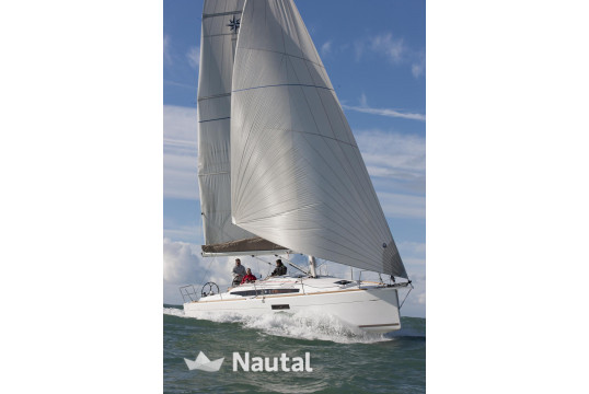 Sailing boat rent Jeanneau Sun Odyssey 349 in Lavrio Port, Athens