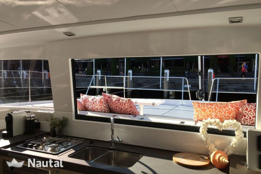 Catamaran rent Catana Bali 4.3 with watermaker in Harbour View Marina Marsh Harbour, Bahamas
