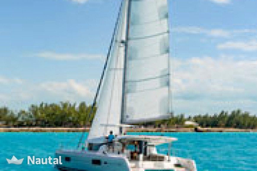 Catamaran rent Lagoon Catamarans Lagoon 42 O.V. with watermaker & A/C - PLUS in Harbour View Marina Marsh Harbour, Bahamas