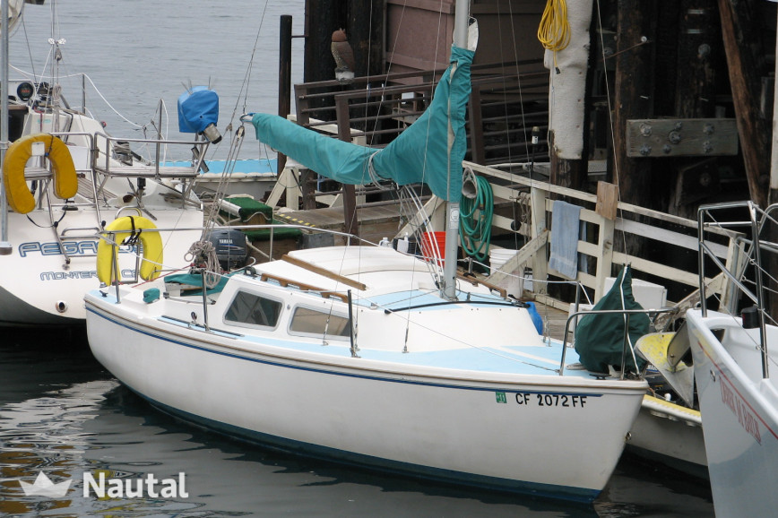 Sailing boat rent Catalina 22 in Monterey, Northern