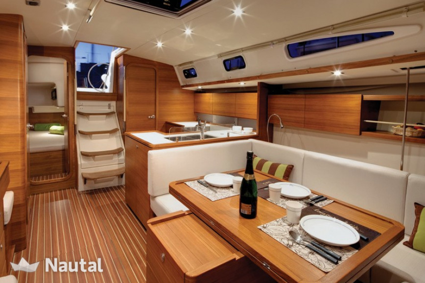 Sailing boat rent AD Boats Salona 44 Performance in Puerto de Palma, Mallorca