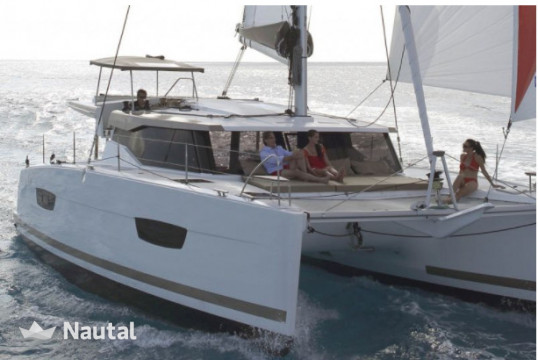 Catamaran rent Fountaine Pajot Lucia 40 Maestro 3 in Port Trogir, Split, Hvar