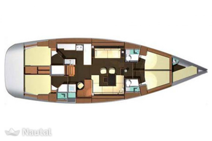 Dufour 525 Grand Large in Marsala | Nautal