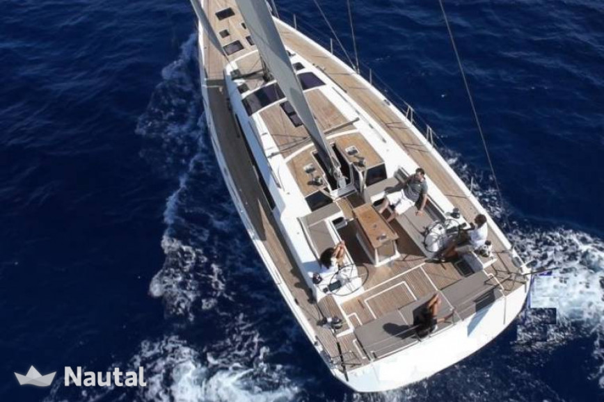 Sailing boat rent Dufour 560 Grand Large in Port de Corbières ...