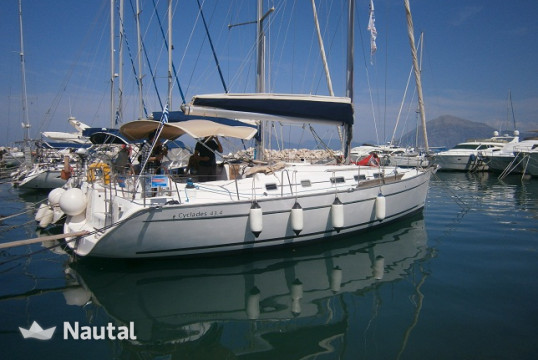 Sailing boat rent Beneteau Cyclades 43.4 in Marina of Lefkas, Lefkas