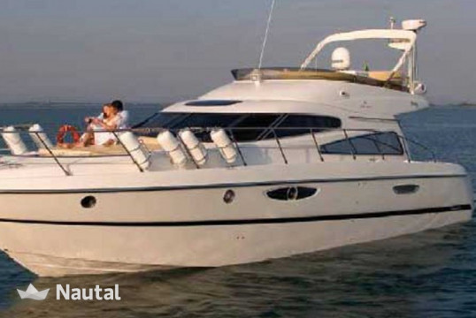Motorboat rent Cranchi Yachts  Atlantique 50 in Marina Kalamaki, Athens