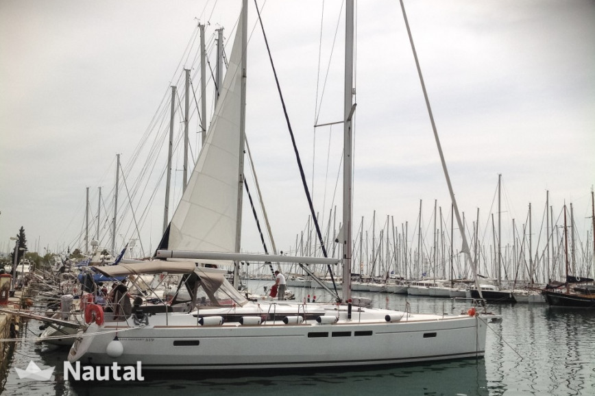 Sailing boat rent Jeanneau Sun Odyssey 519 - 5 cab. in Lavrio Port, Athens