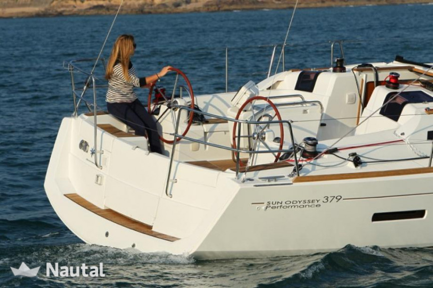Sailing boat rent Jeanneau  SO 379 in Port de Sant Antoni, Ibiza