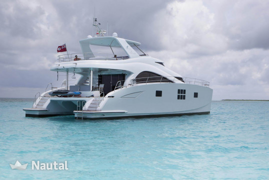 Catamaran rent Sunreef Yachts Sunreef 60 in Aquatours Marina, Cancun
