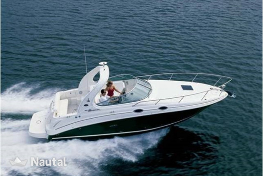 Motorboat rent Sea Ray 315 in Porto di Moniga del Garda, Lake of Garda