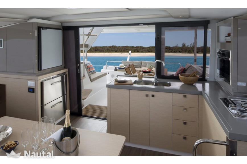 Catamaran rent Fountaine Pajot Lucia 40 with watermaker & A/C - PLUS in Harbour View Marina Marsh Harbour, Bahamas