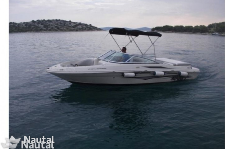 Motorboot chartern Sea Ray Boats Sea Ray 205 Sport im Port Tribunj ...