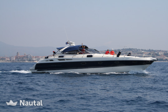 "Yacht rent Cranchi Yachts mediterrannée 50  "" in Port de Cannes, Alpes Maritimes - Cannes"
