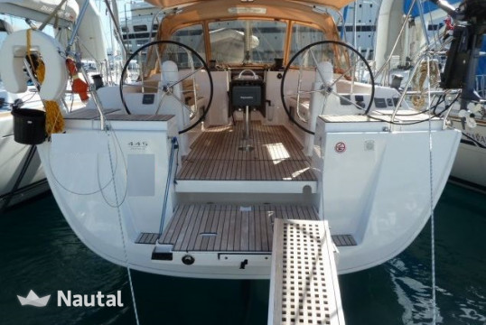 Sailing boat rent Dufour Yachts  445 GL 6 pax in Ece Marina, Fethiye