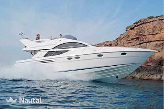 Motorboat rent Fairline  Phantom 46 in Marina Kalamaki, Athens