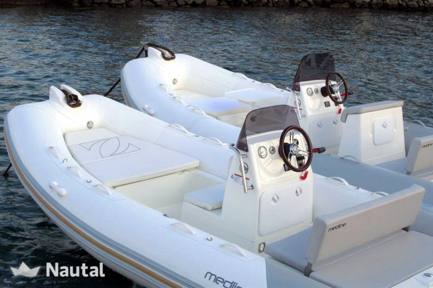 Motorboat rent Zodiac Nautic  Medline 540 in ACI Marina Pomer, Istria