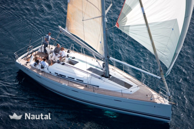 Enjoy sailing on this 14 m Beneteau First 45 without skipper