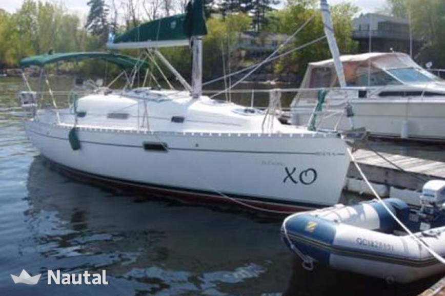 Sailing boat rent Beneteau Oceanis 281 in Plattsburgh City Marina, Lake Champlain