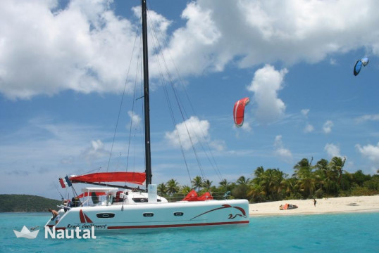 Huur catamaran MARSAUDON COMPOSITES TS 50 with watermaker in Port du Marin, Martinique