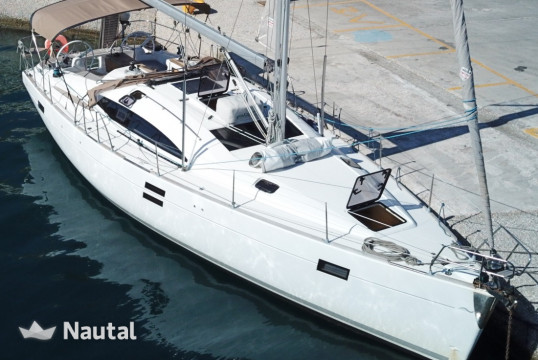 Sailing boat rent Elan Marine Elan 444 Impression in Lavrio Port, Athens