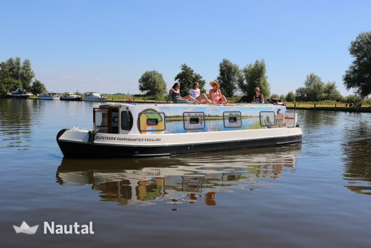 License free boat rent EV 1150 in Koudum, Friesland