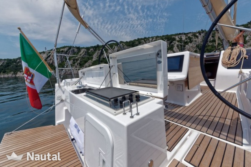 Sailing boat rent Dufour Yachts 412 Grand Large in Porto Tino Rossi, Southern Corsica - Ajaccio