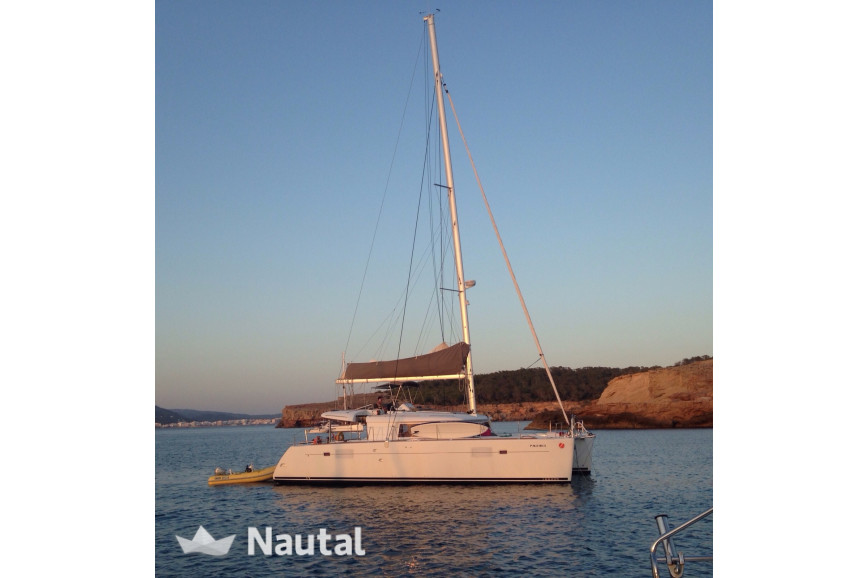 Catamaran rent Lagoon  450 4 cabin in Port de Sant Antoni, Ibiza
