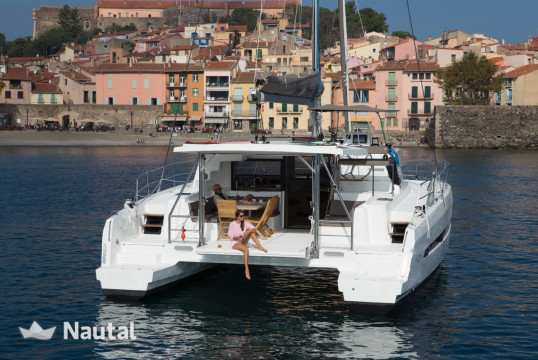 Alquilar catamarán Catana Bali 4.5 Open Space en Port de Sant Antoni, Ibiza