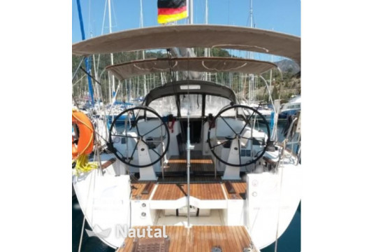 Sailing boat rent Dufour Yachts  450 GL in Ece Marina, Fethiye
