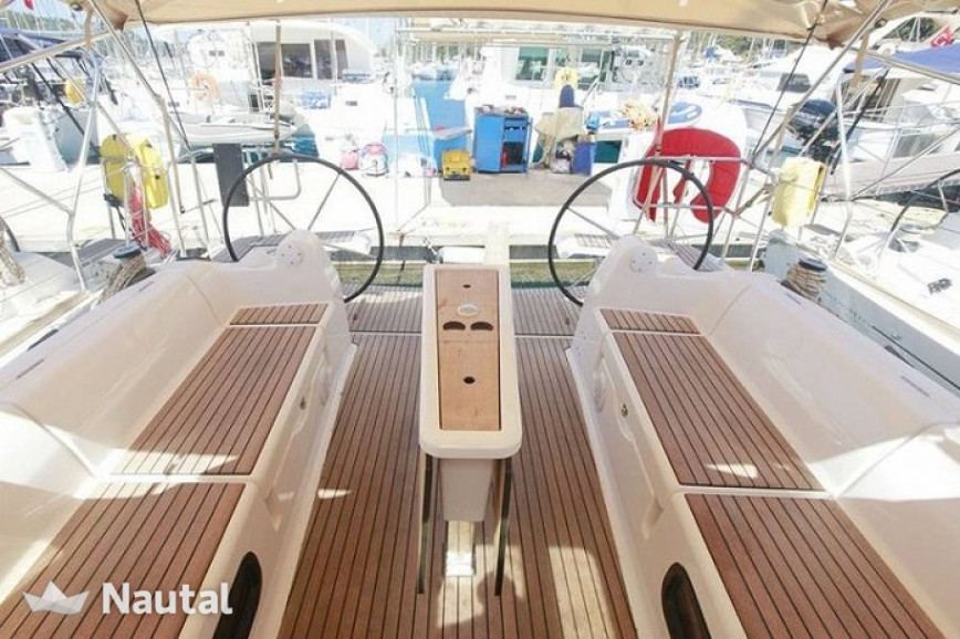 Sailing boat rent Dufour Yachts Dufour 382 GL in Ece Marina, Fethiye