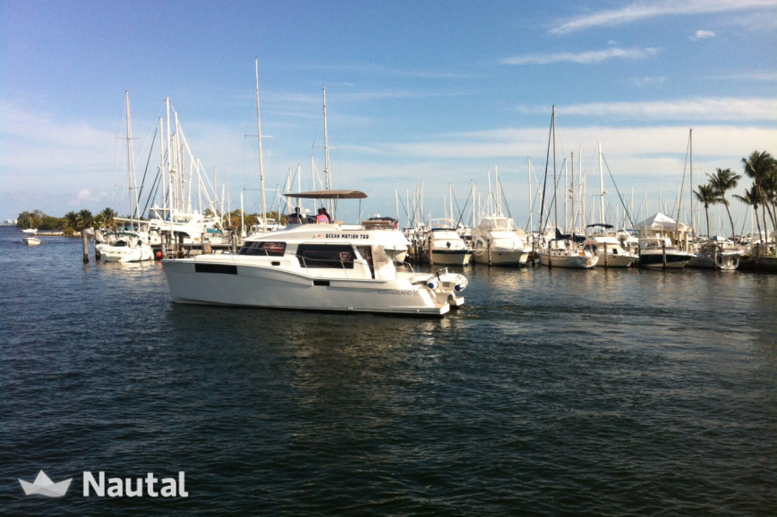 Huur catamaran Fountaine Pajot Summerland 40 in Key West Harbour, Florida Keys