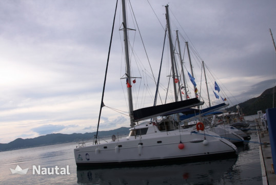 Catamaran rent Fountaine Pajot Belize 43 - 4 + 2 cab. in Yacht Marina, Marmaris