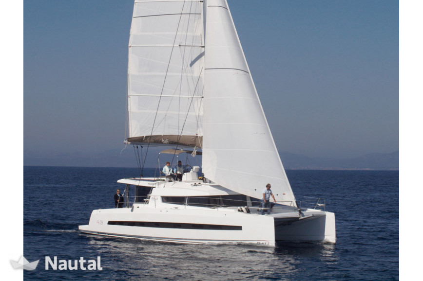 Catamaran rent Catana Bali 4.3 O.V. with watermaker & A/C - PLUS in Harbour View Marina Marsh Harbour, Bahamas