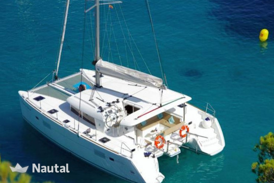 Catamaran rent Lagoon  400 S2 in Olbia, Sardinia