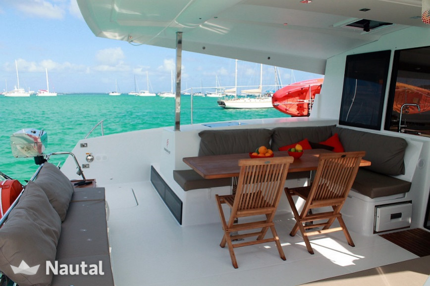 Catamaran rent Fountaine Pajot Lucia 40 in Tortola, British Virgin Islands