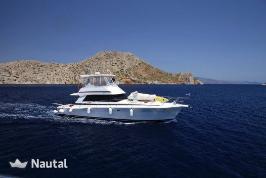 Yacht rent Riviera  48 in Port of Kyllini, Peloponnese