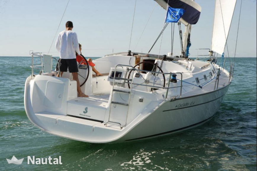 Sailing boat rent Beneteau Cyclades 43.4 in Darsena Acton ... | 868 x 578 jpeg 287kB