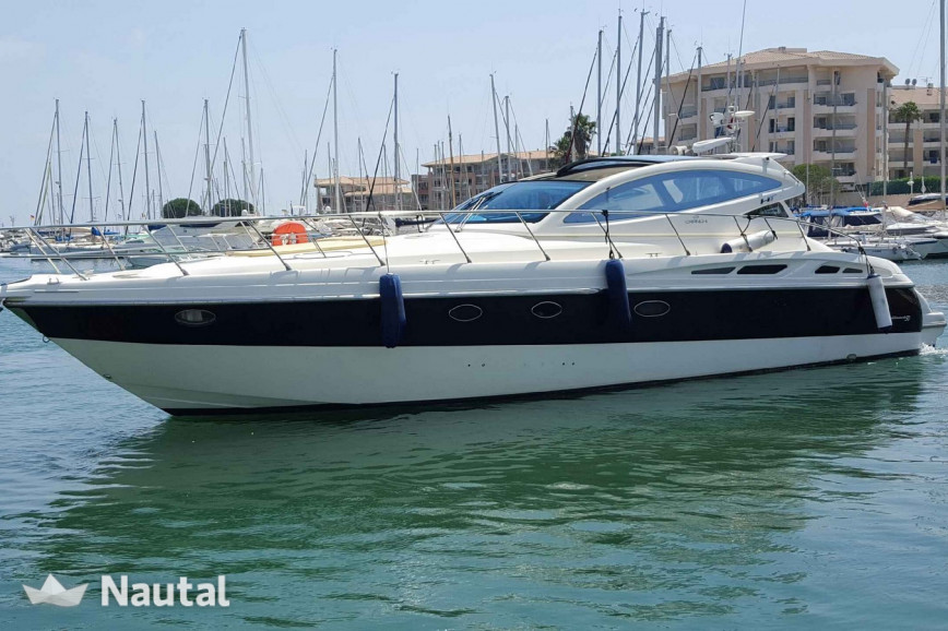 Motorboat rent Cranchi 50 HARD TOP in Port de Fréjus, Var - Fréjus
