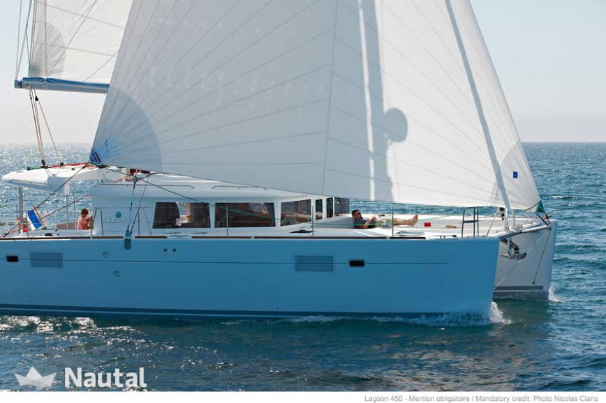 Huur catamaran Lagoon  450 with watermaker in Marina Port-La-Royale, Sint Maarten
