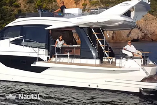 Motorboat rent Galeon  500 Fly/HT in ACI Marina Split, Split, Hvar