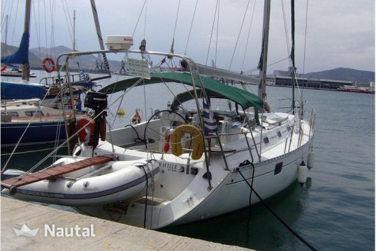Sailing boat rent Beneteau Oceanis 400 in Port of Volos, Thessaly