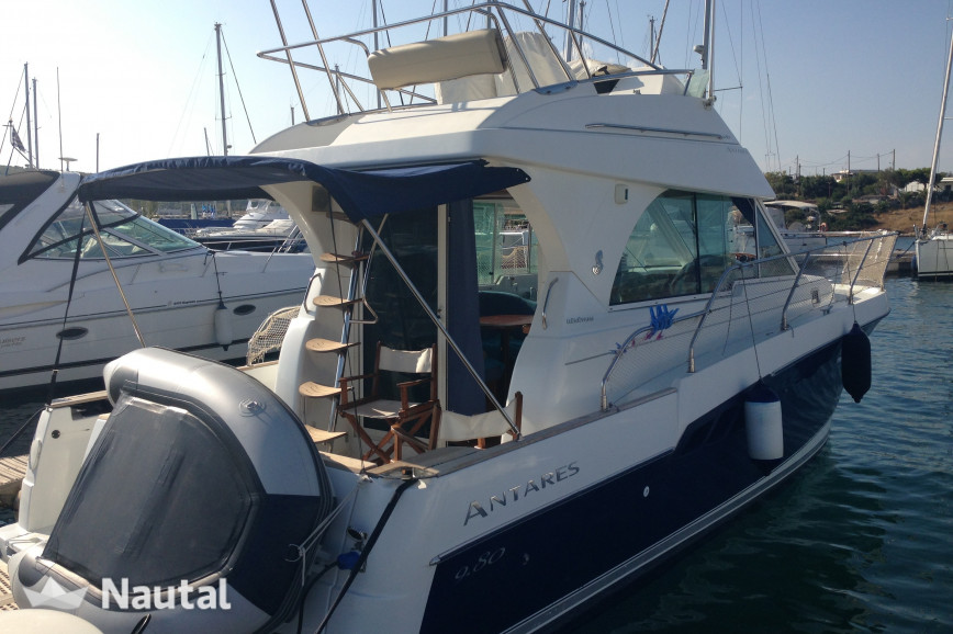 Motorboat rent Beneteau Antares 980 in Olympic marina, Athens