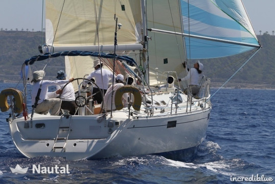 Sailing boat rent Beneteau Oceanis 390 in Port of Volos, Thessaly