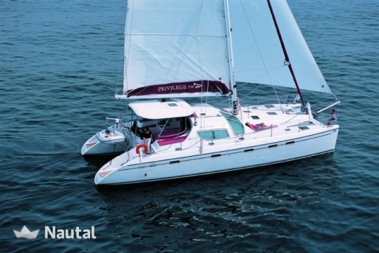 Catamaran rent privilege  495 (4 cab) in Port du Marin, Martinique
