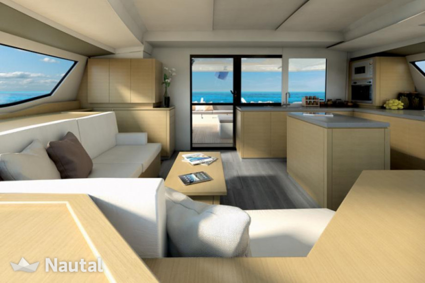 Alquilar catamarán Fountaine Pajot Saba 50 with watermaker & A/C - PLUS en Port du Marin, Martinica