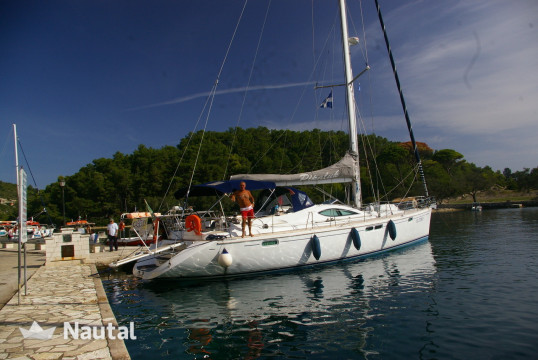 Sailing boat rent Jeanneau Sun Odyssey 54DS in Port of Messolonghi, West Greece