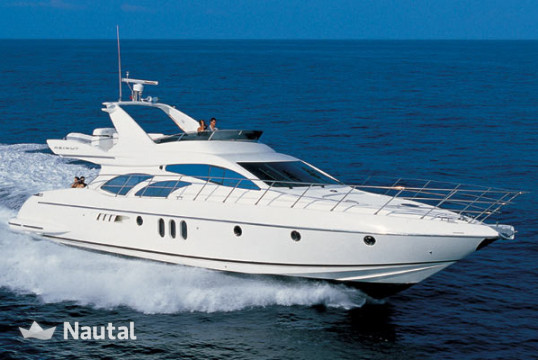 Yacht rent Azimut 62 Evolution in Port of Kyllini, Peloponnese