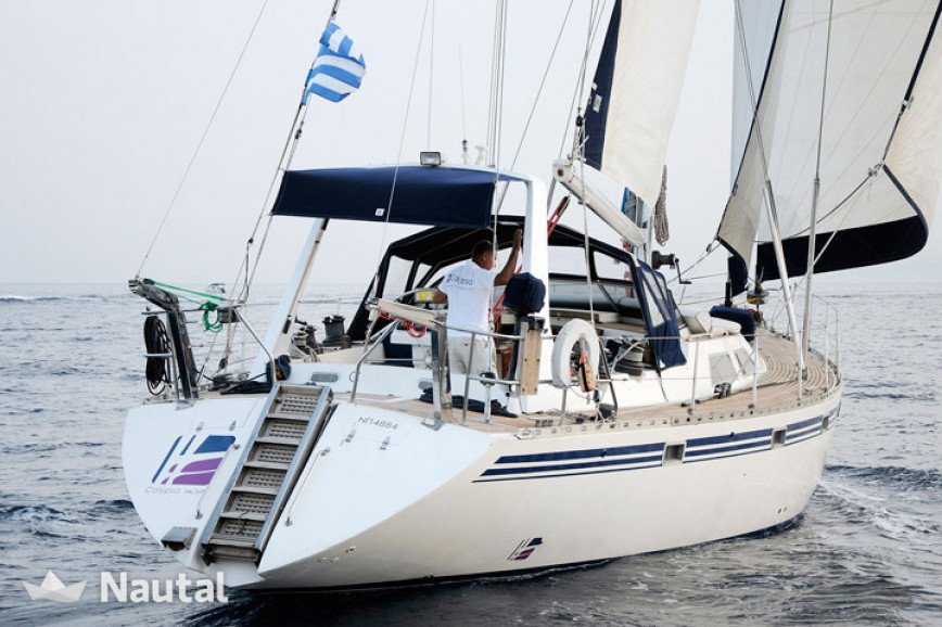Sailing boat rent ATLANTIC M60 in Marina Kalamaki, Athens