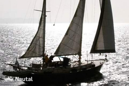 Sailing boat rent Olympic Adventure 47 Ketch in Patras Port, Peloponnese